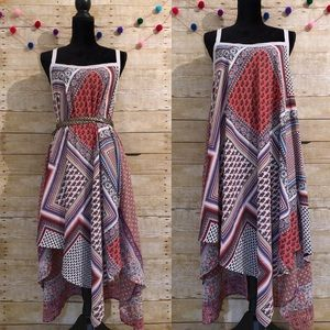 Aratta Silent Getaway asymmetrical hem dress